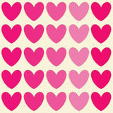 Valentines day illustrations and typography elements. Royalty Free Stock Photo