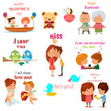 Valentines Day Illustrations Stock Photo