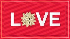 Valentines Day invitation flyer background. Royalty Free Stock Image