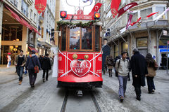 Valentines Day in Istanbul,Turkey Royalty Free Stock Photo