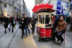 Valentines Day in Istanbul,Turkey Stock Photography