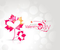 Valentines day leaf design heart Stock Photo