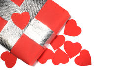 Valentines Day love gift Royalty Free Stock Photo