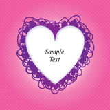 Valentines day Love heart background Stock Photography