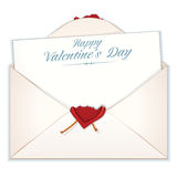 Valentines Day Love Letter Royalty Free Stock Photo