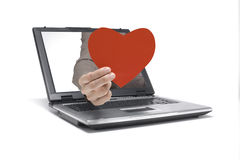 Valentines Day Mail Royalty Free Stock Photography