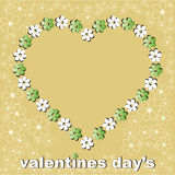 Valentines day one Royalty Free Stock Photography