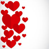 Valentines day party card Royalty Free Stock Images