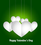 Valentines Day party card. Abstract background Royalty Free Stock Photography