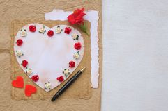 Valentines Day party ideas Royalty Free Stock Photo