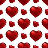Valentines day pattern with heart Royalty Free Stock Image