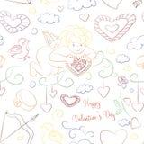 Valentines Day pattern Royalty Free Stock Photo