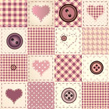 Valentines day pattern Royalty Free Stock Photos