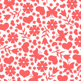 Valentines day pattern seamless Royalty Free Stock Photography