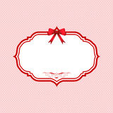 Valentines Day polka dot background Royalty Free Stock Image