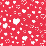Valentines day postcard Royalty Free Stock Photos