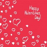 Valentines day postcard Stock Photo