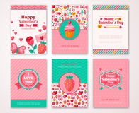 Valentines Day Poster, Banner, Greeting card Stock Photo