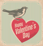 Valentines day poster design concept Royalty Free Stock Images