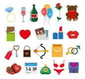 Valentines day presents Royalty Free Stock Photo