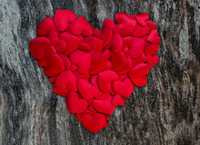 Valentines day red heart Stock Image