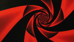 Valentines Day Red Rose Design Swirl Animation Background. Perfect seamless loop background and special effect psychoactive footage in full color of rotational stock video