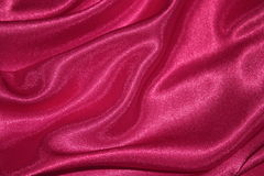 Valentines Day Red Silk Background - Stock Photo Royalty Free Stock Images