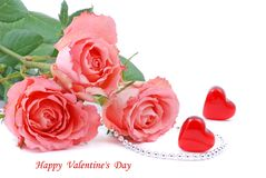Valentines day rose Royalty Free Stock Photo