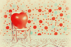 Valentines day rubber heart Royalty Free Stock Photo