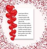 Valentines day sale background Stock Photos