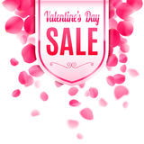 Valentines Day Sale Banner Royalty Free Stock Photography