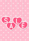 Valentines day sale Royalty Free Stock Photography