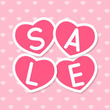 Valentines day sale Royalty Free Stock Images