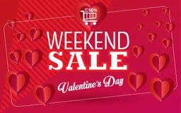 Valentines day Sale royalty free illustration