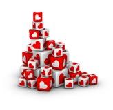 Valentines day sales Stock Image
