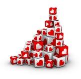 Valentines day sales Stock Photos