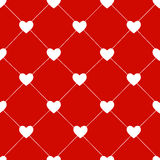Valentines Day Seamless Hearts Pattern Vector Stock Photos