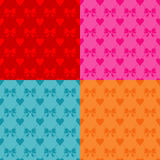 Valentines Day Seamless Pattern Royalty Free Stock Images