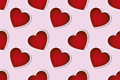 Valentines day seamless pattern background Stock Photos