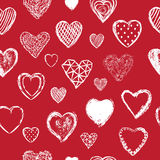 Valentines Day seamless pattern vector Royalty Free Stock Image