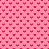 Valentines Day seamless patterns. Pink endless backgrounds with hearts. Romantic hearts patterns backgrounds. Valentines Day seamless patterns. Pink endless vector illustration