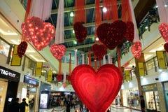 Valentines Day in Select citywalk in Saket Delhi Stock Photo