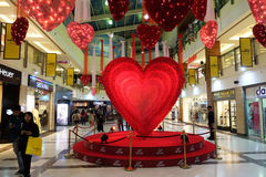 Valentines Day in Select citywalk in Saket Delhi Royalty Free Stock Images