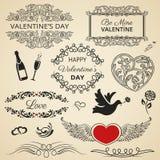 Valentines Day set Stock Photo