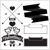 Valentines day. Set Royalty Free Stock Photography