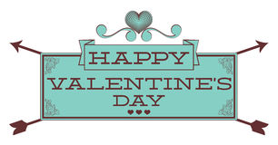 Valentines Day. Sign Royalty Free Stock Images