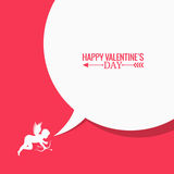 Valentines day social media concept background Stock Images