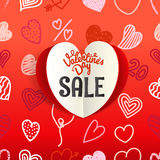Valentines Day special offer card Royalty Free Stock Photography