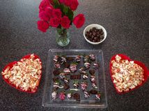 Valentines Day Special Treats Stock Image