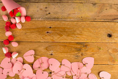 Valentines day still life Royalty Free Stock Images